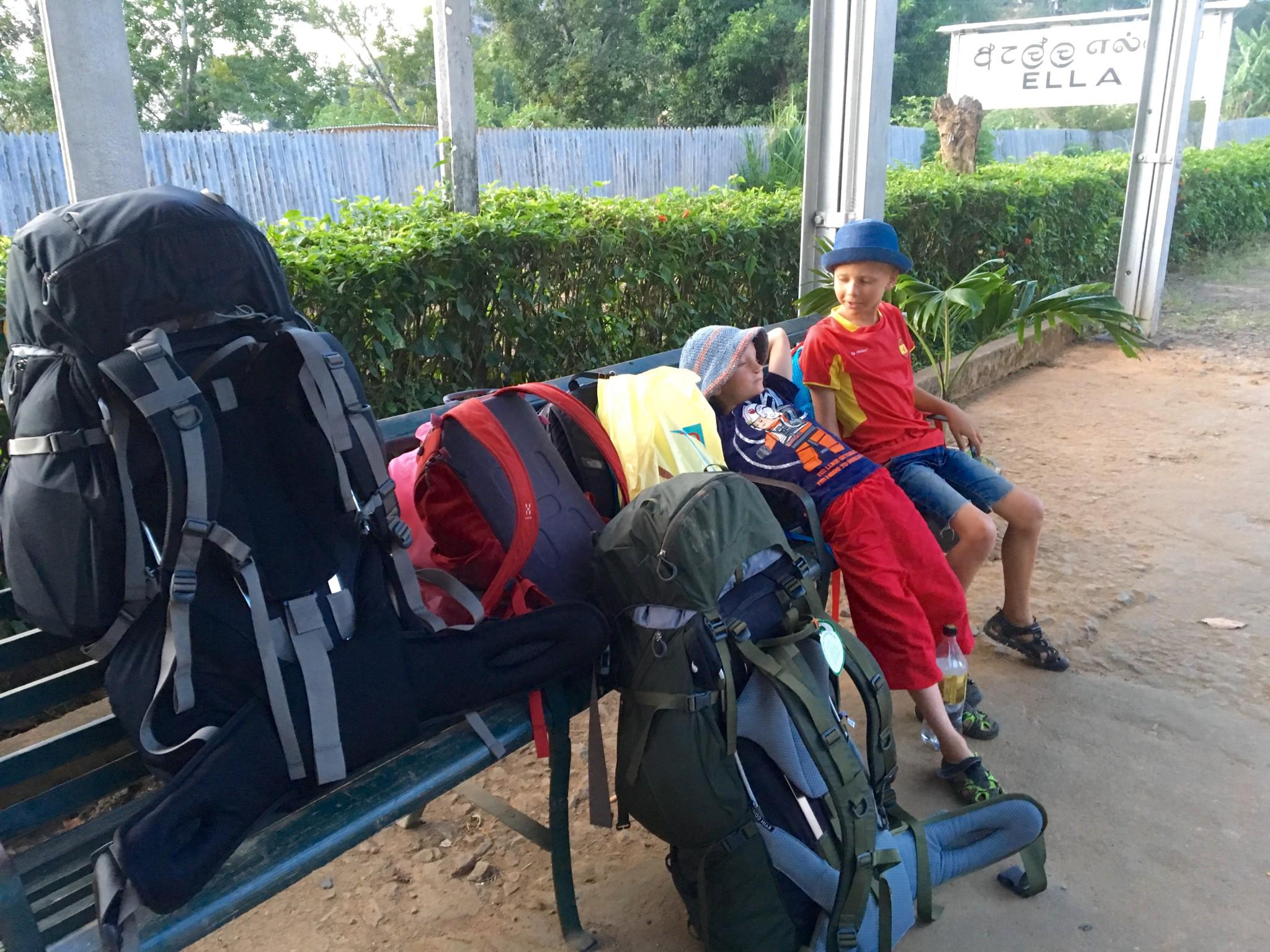 packning resa med barn