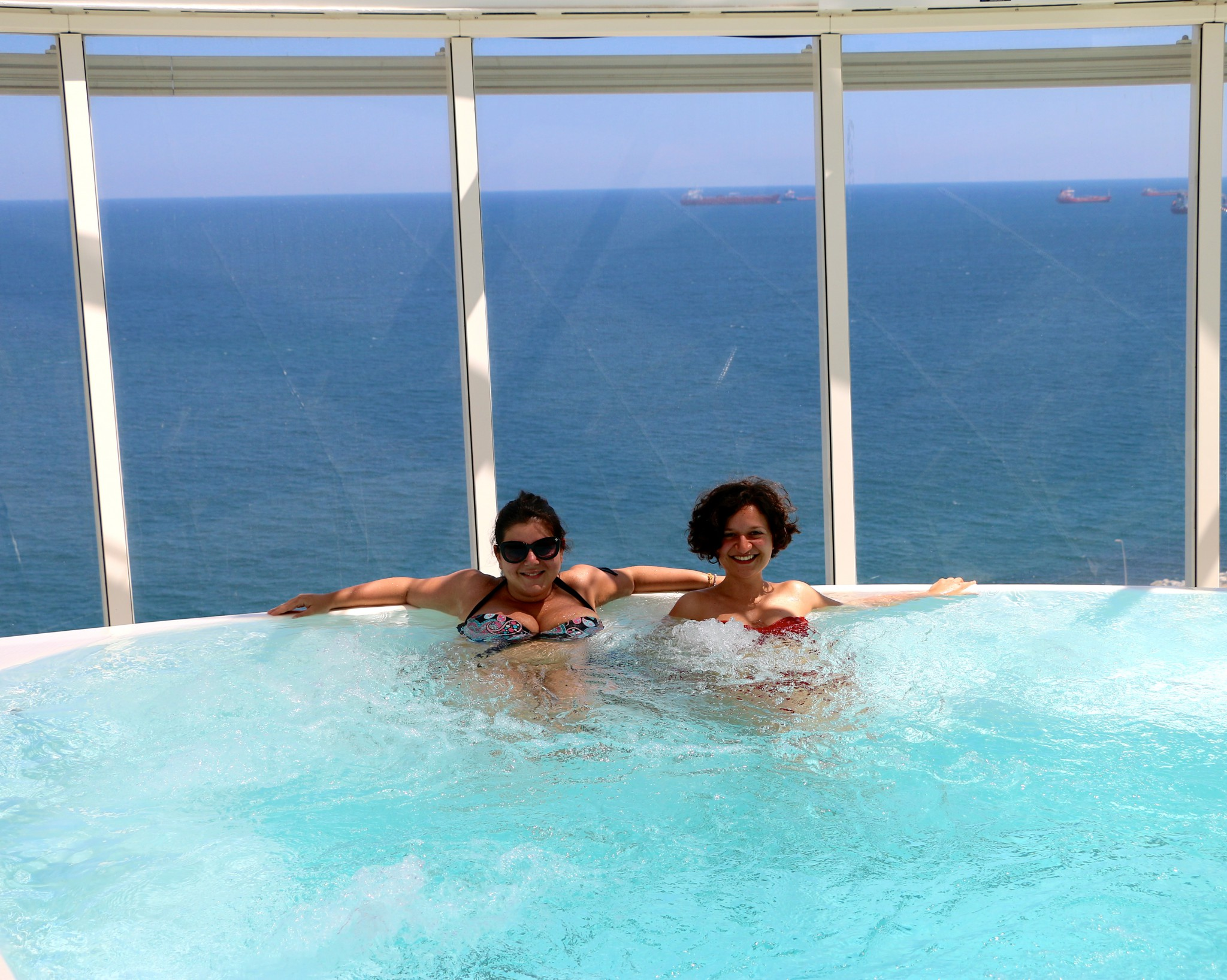 harmony of the seas bubbelpool