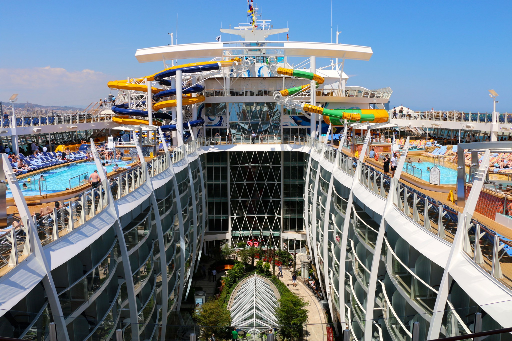 Harmony of the seas, Foto Ida Thunberg