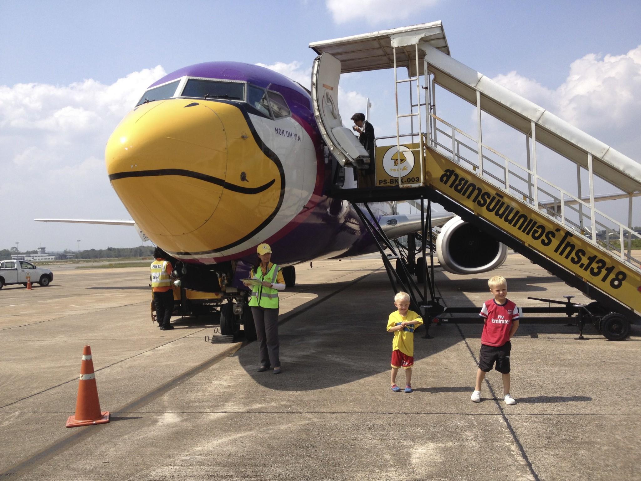 inrikesflyg i thailand