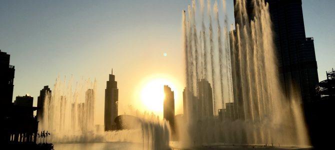 Rolig dag på Dubai Mall