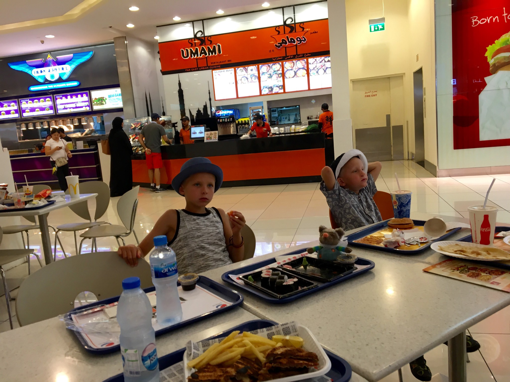 food court mall of the emirates