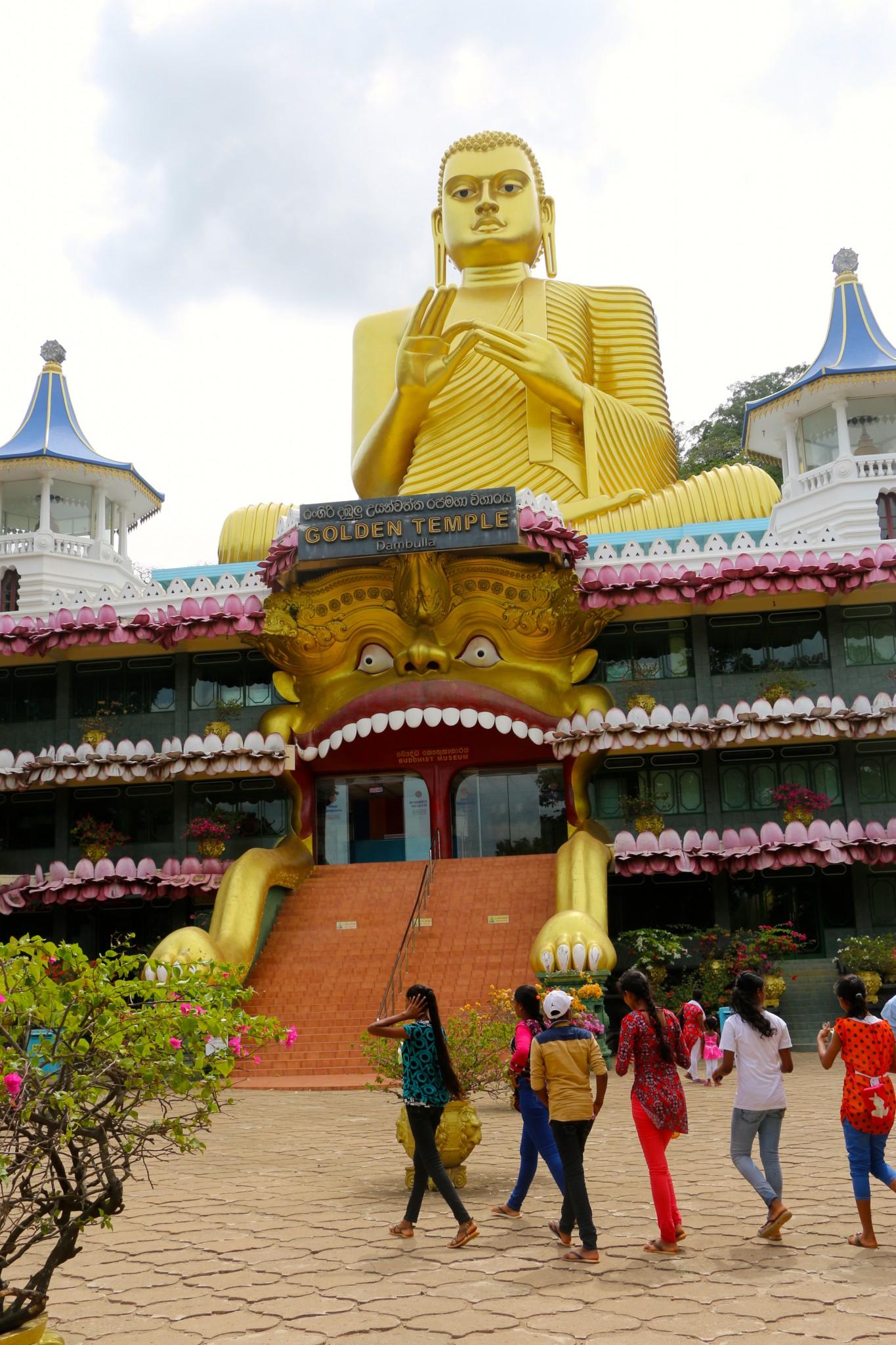 gyllene templet dambulla