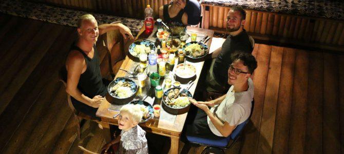 Vattkoppor och ett oväntat middagsbesök