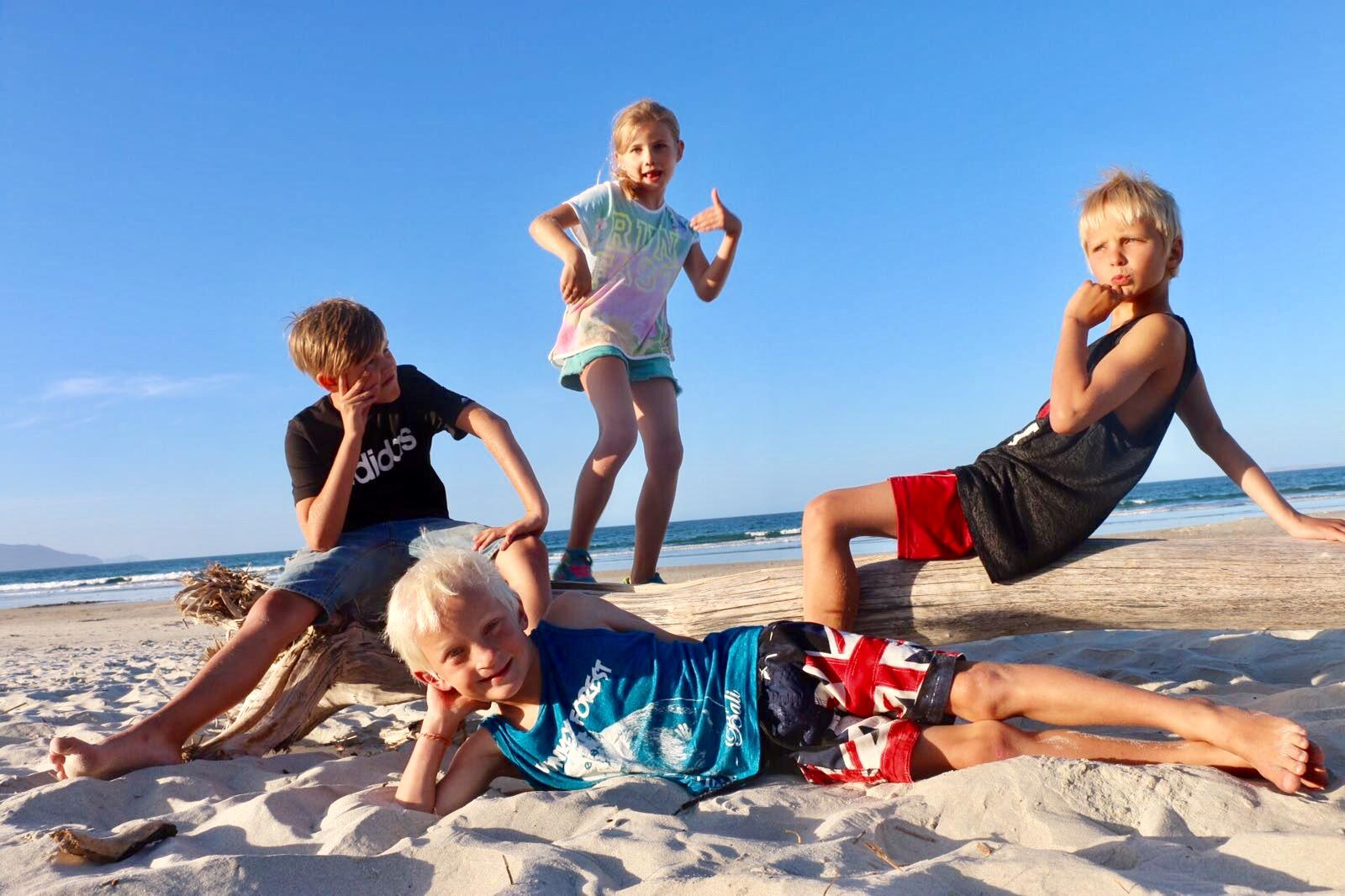 nya zeeland med barn