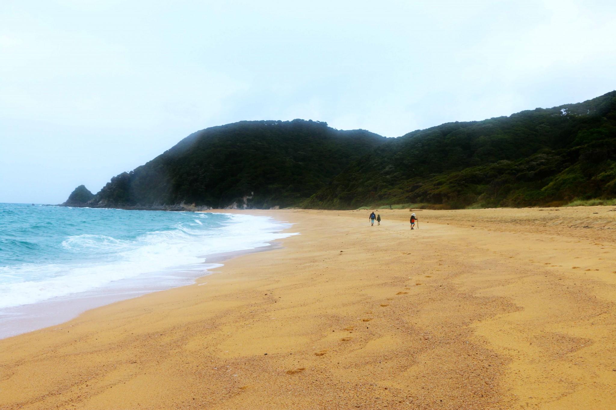 abel tasman hike