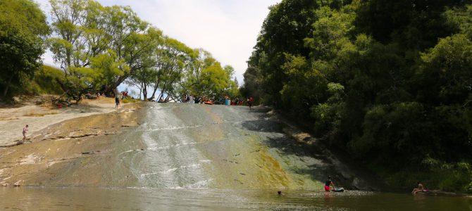 Rere Rock slide – bästa gratisnöjet i Nya Zeeland?