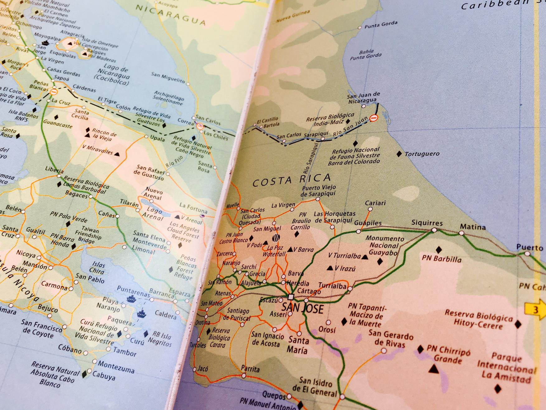 reseplanering centralamerika