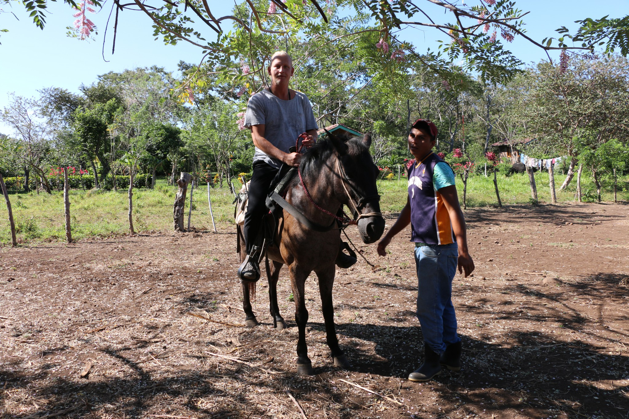 ometepe nicaragua ridning