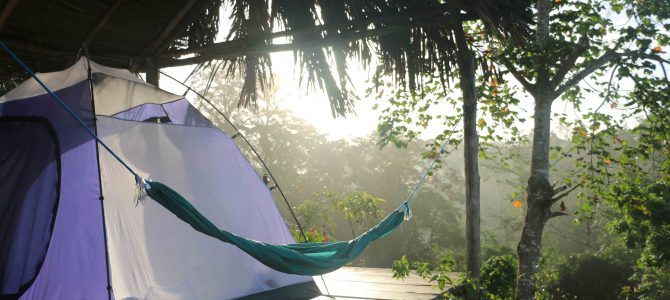Basecamp Bartola – ett tältäventyr i djungeln