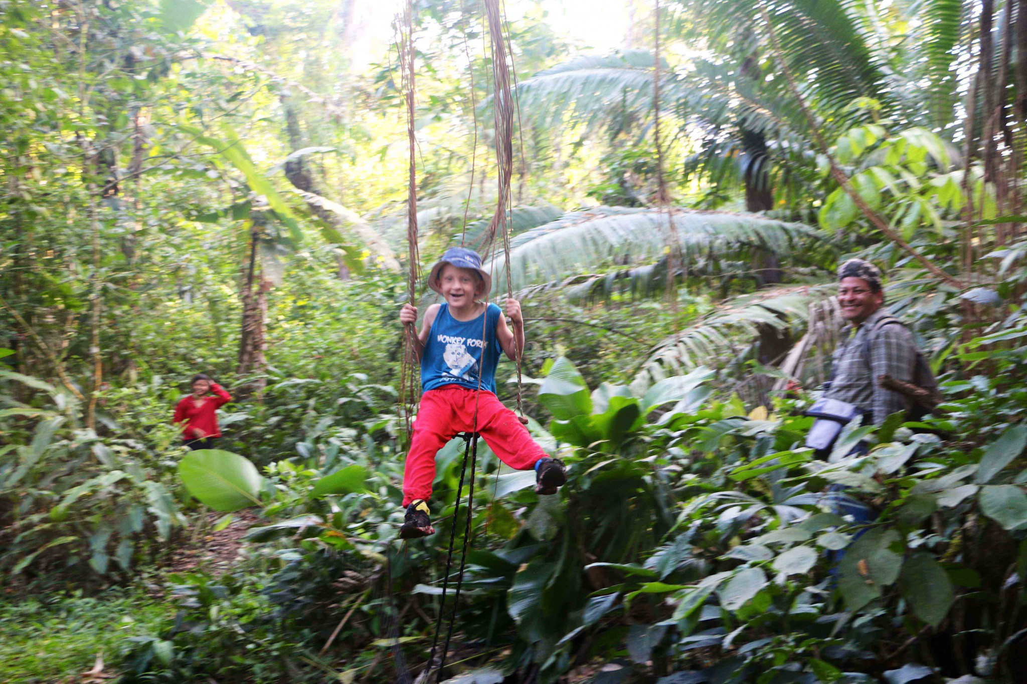los guatuzos rainforest
