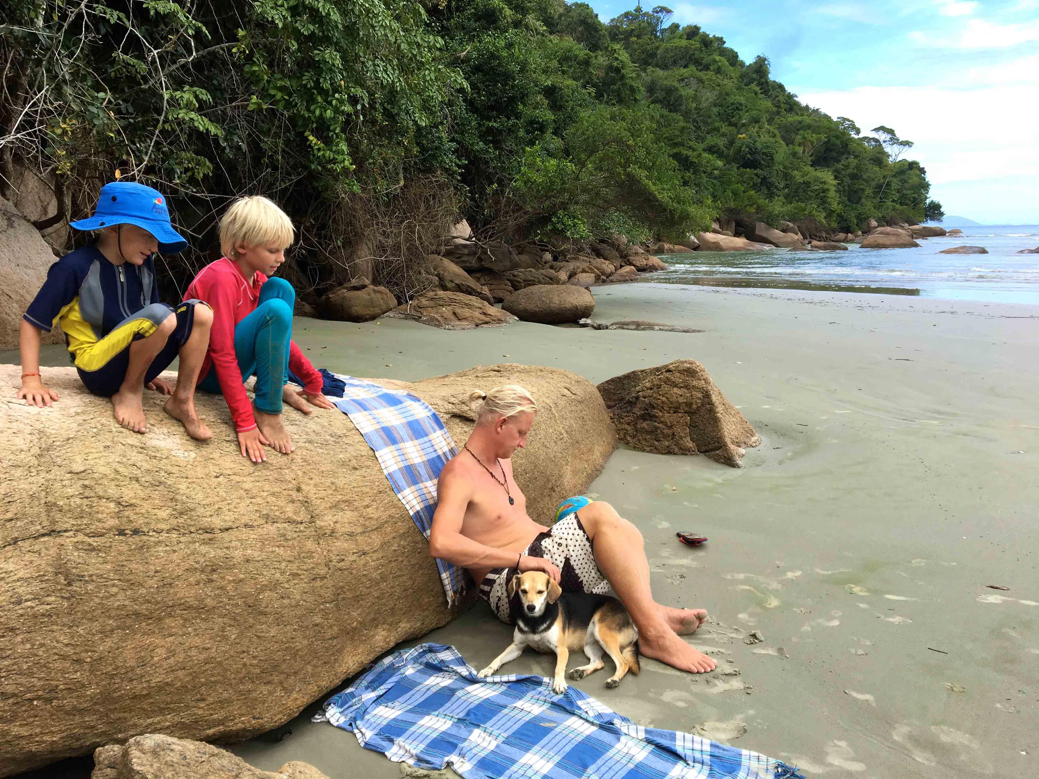 picinguaba stranddag