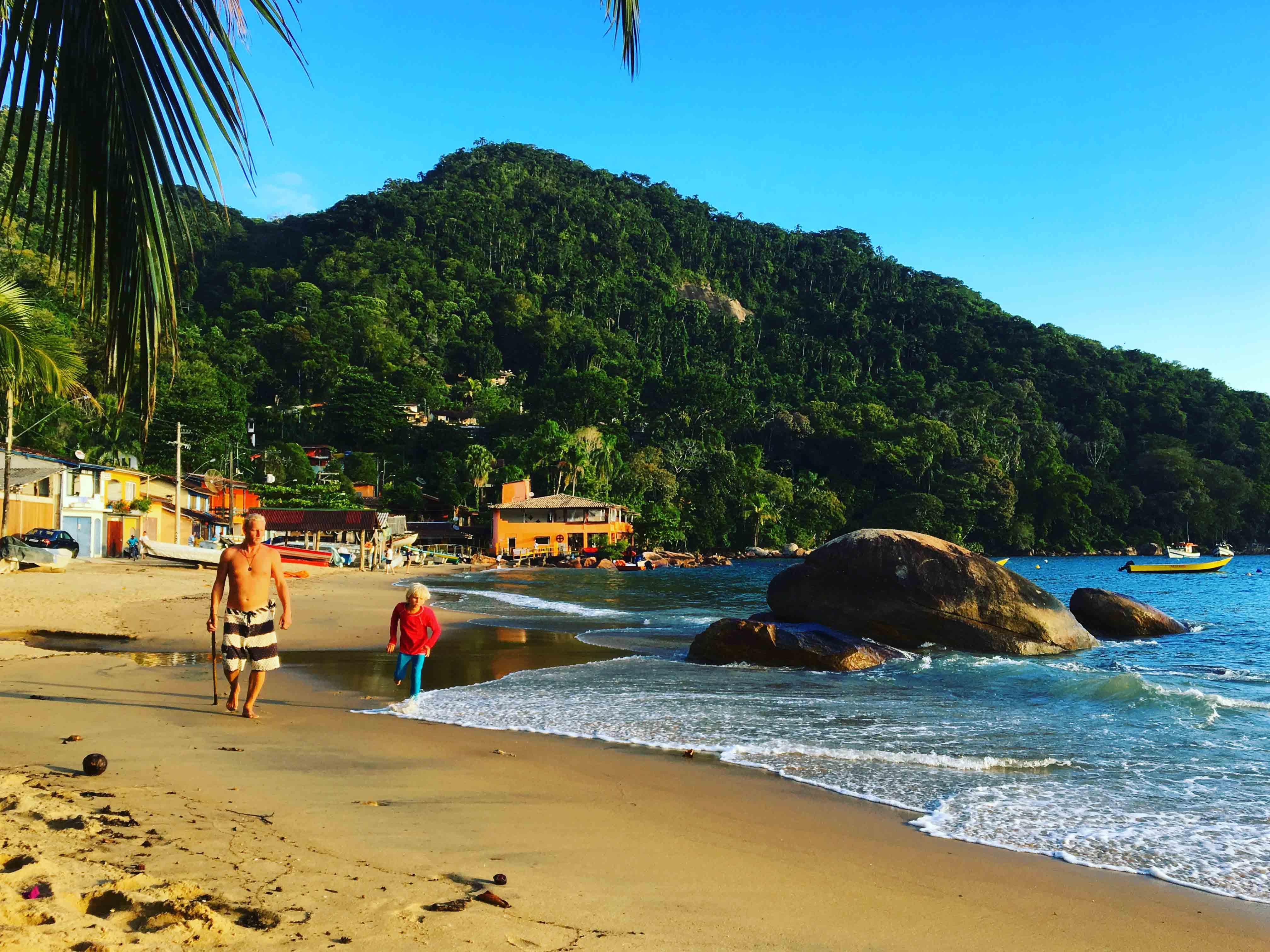 picinguaba stranden