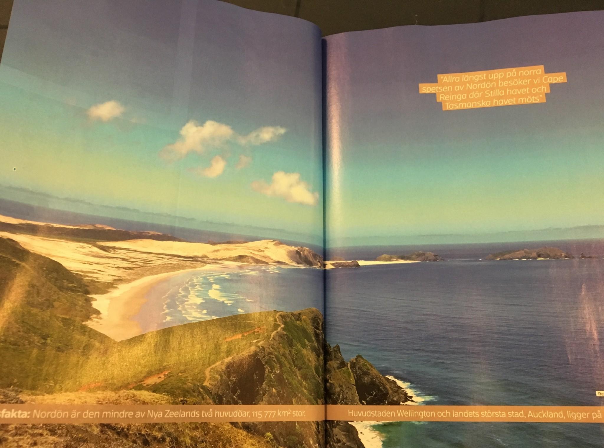resereportage nya zeeland från nordön