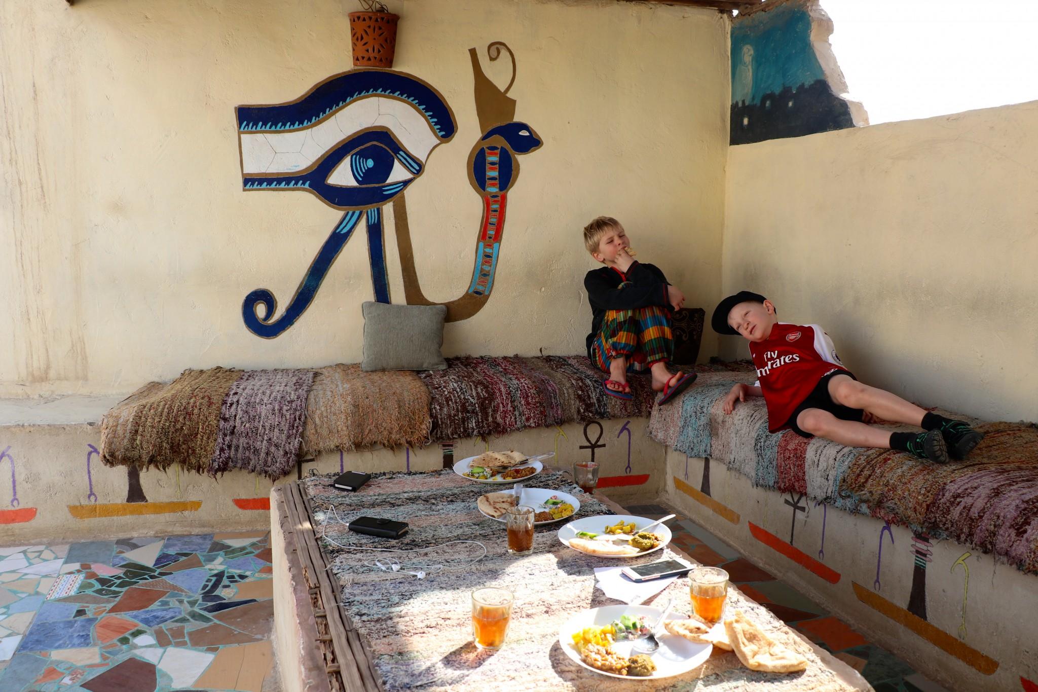 egypten resa med barn