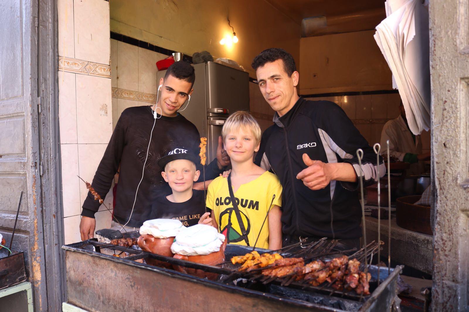 mat i soukerna i marrakech