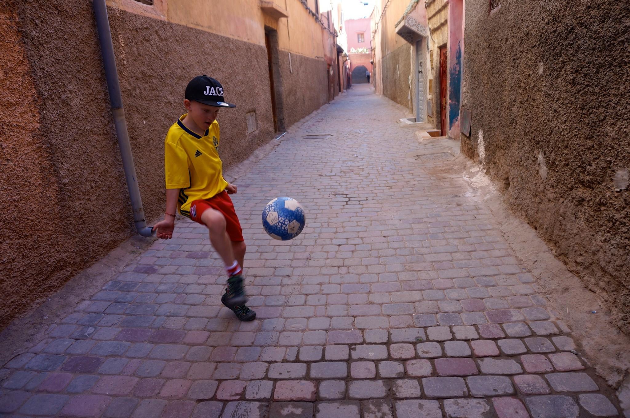 marrakech fotboll
