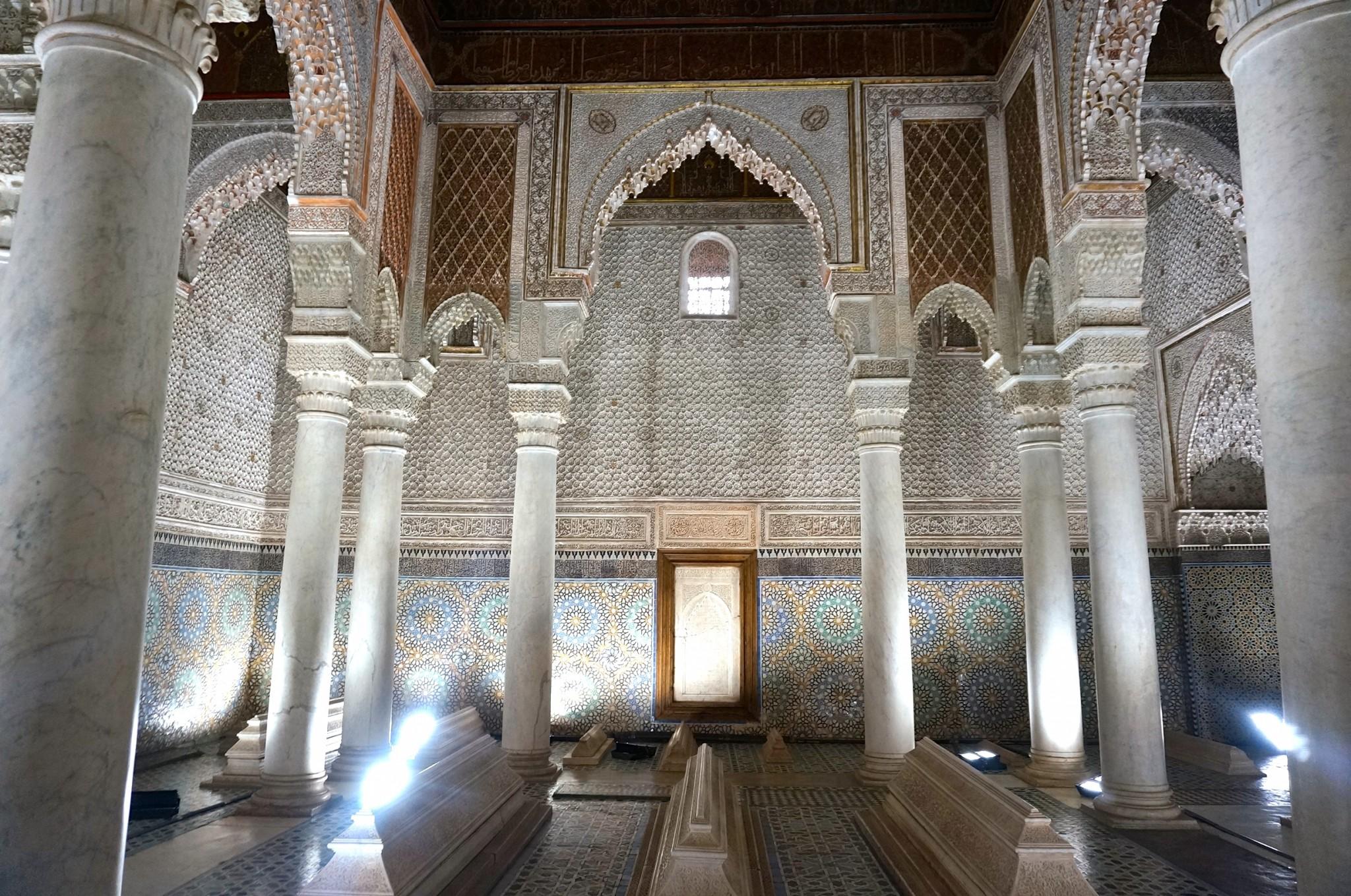 marrakech saadiska gravarna