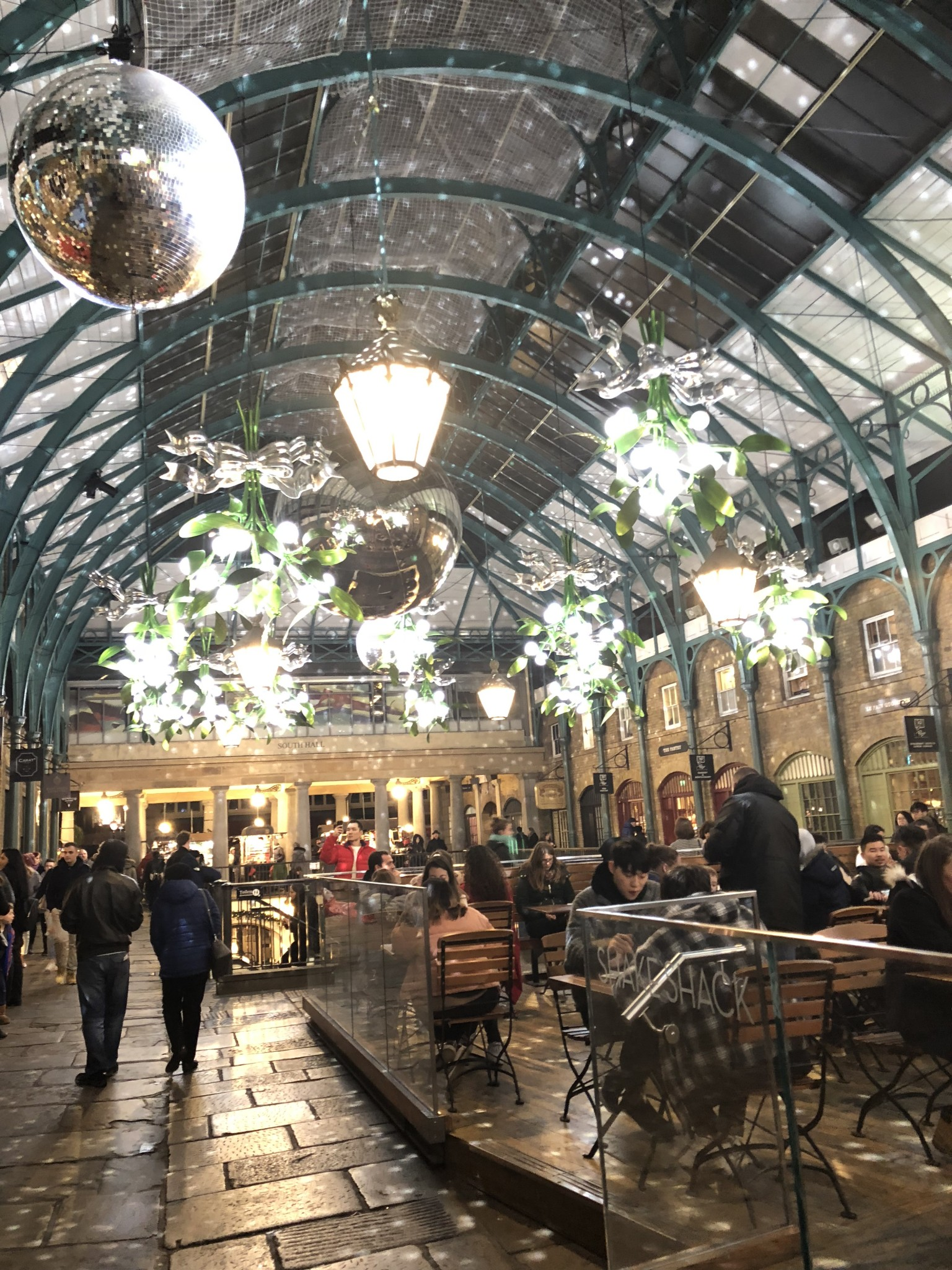 covent garden london med barnen